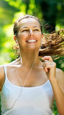jogger exercising